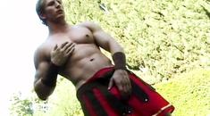 Buff rugby dude fucking his twink ier boyfriend