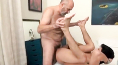 Amateur euro rimmed and sucked by college guy